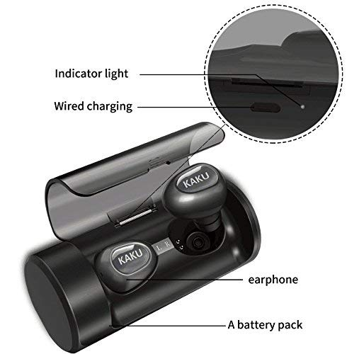 Bluetooth Headphones –Ergonomic dual True Wireless Earbuds For Apple iPhone & Android Samsung Devices –Stylish Rechargeable Headset With Built-In Mic –Ultra-Light Cordless Earphones For Women& Men