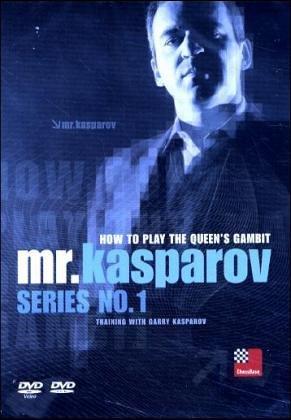 mr. kasparov Serie No 1 / How to play the Queen's gambit / Training with Garry Kasparov /  DVD-ROM für Windows 98 SE/ME/2000/XP