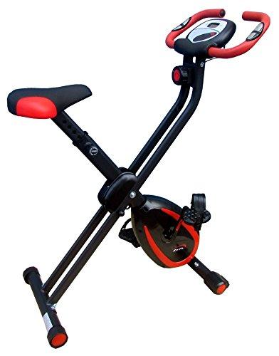 XerFit Bicicleta de ejercicio magnética plegable