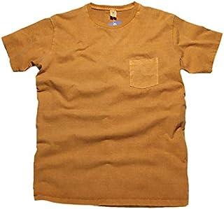 (ベルバシーン) Velva Sheen ピグメント ポケットティーシャツ ポケティー ポケットT 161364 ゴールド