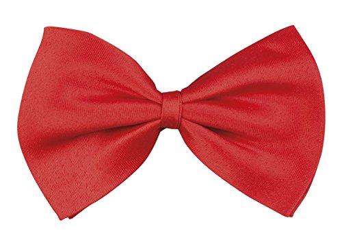 Boland - Krawatten & Schärpen zum Verkleiden in Rot, Größe Einheitsgröße