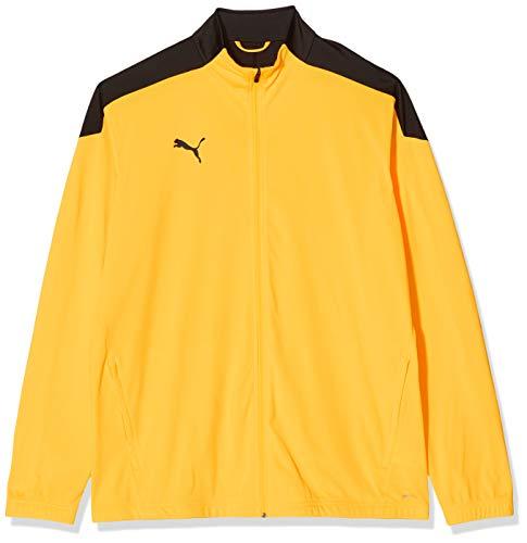 PUMA Ftblnxt Track Jacket Chaqueta De Entrenamiento, Hombre, Black-Ultra Yellow, S