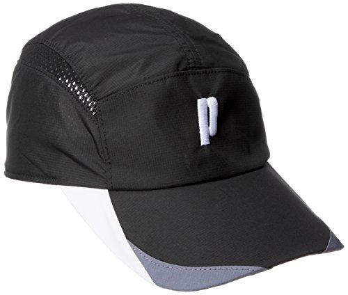[プリンス] テニスウェア ジャストフィットキャップ [ユニセックス] PH593 ブラック (165) 日本 フリーサイズ (FREE サイズ)