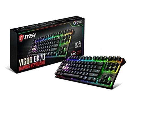 MSI Vigor Cherry MX RGB Dedicated Hotkeys Mechanical Gaming...