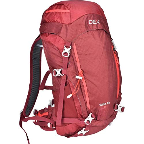 oex Vallo Air 28 Rucksack, Red, One Size
