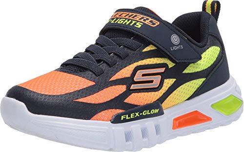 Skechers Jungen Flex-Glow DEZLOM Sneaker, Nvor, 30 EU