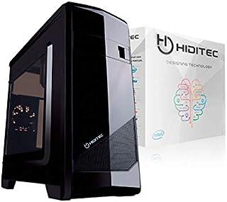 Hiditec Ordenador M10 I5-7400 S1151-ASUS H110-4GB DDR4 2400MHZ-120GB SSD SATA3-GRAB-DVD-CARDREADER-CAJA MATX M10-500W EVO-Tec+MOU KM300