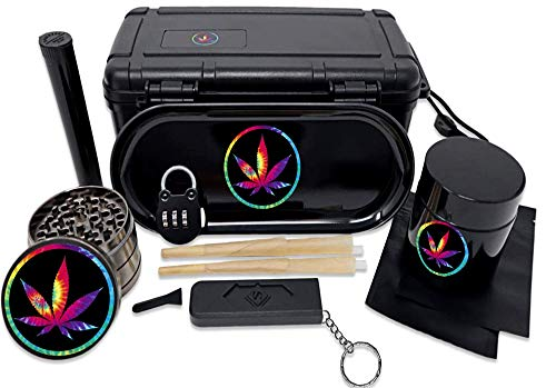 Boss Gear- Stash Box All In One Complete Combo Gift Set (Blk Tie-Dye)