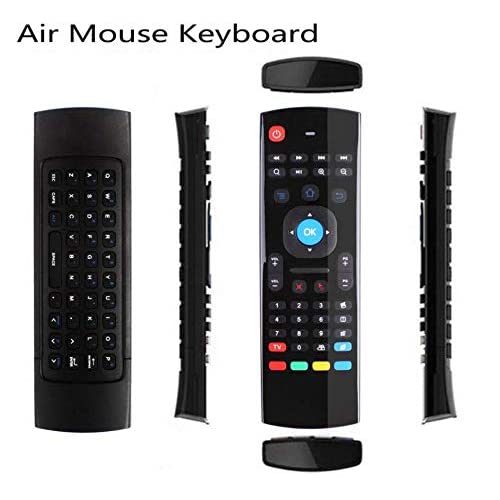 MX3 Pro 2.4G Kodi Remote with Mini Wireless Keyboard Mouse Air Control for Android Smart