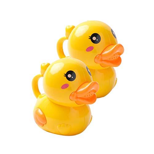 WFF Spielzeug Kinder-Bad-Spielzeug 2 Stück, Gießkanne, Nette Karikatur-Hausgarten-Gießkanne Flasche Pool Spielzeug Spray for 6 Monate und Kinder (Color : 1set)