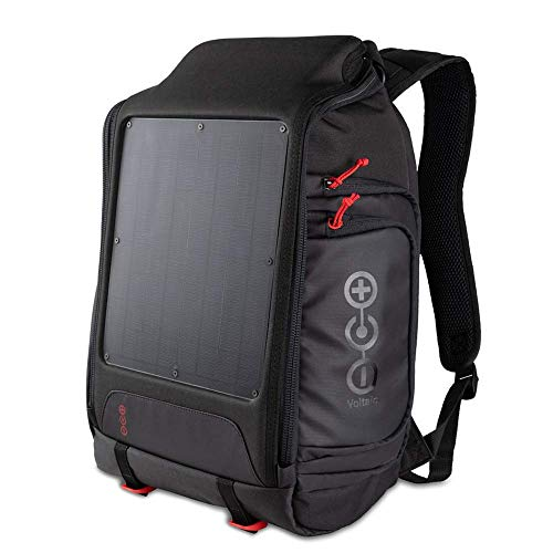 Voltaic Systems Array Rapid Solar Backpack Charger for Laptops | Includes a Battery Pack (Power Bank) and 2 Year Warranty | Powers Laptops Including MacBook, Phones, USB Devices, More - Matte Black Panel
