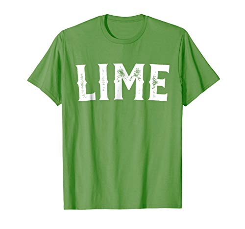 Lime Salt Tequila Taco Costume Shirt Halloween Group Idea