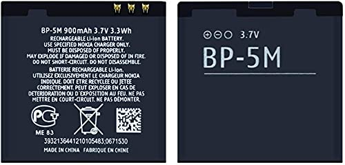 BP-5M 900mAh Batteria per 5700 5610 5611 5710 5611xm 5700xm 5710xm 5700xm 5710xm 6110 6110N 6200C 6220C 6220 6500S 7379 7390 8600