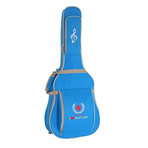 Funda de Guitarra Ammoon Andoer   Funda tipo mochila impermeable y de diseño atractivo.