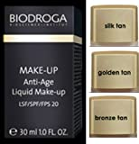 Biodroga Anti-age Liquid Makeup - Spf 20-30 Ml - 01 Silk Tan. (New)