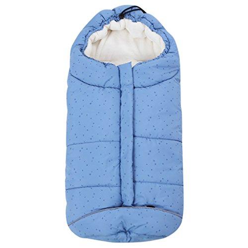 Baby Schlafsack 3 Tog, Kinderwagen Schlafsack Neugeborenen Fußsack 0-6 Monate, Blau Stern