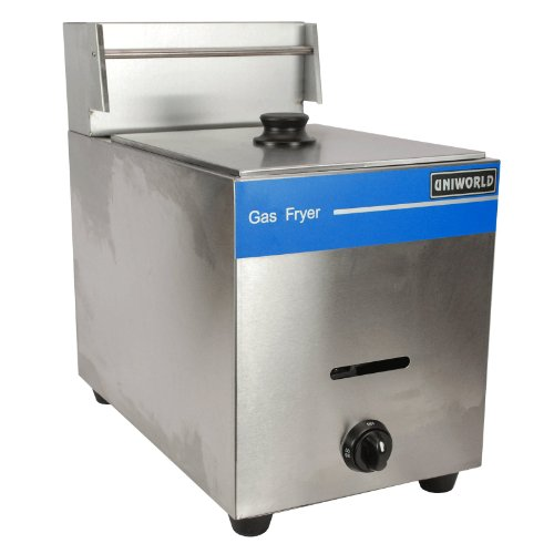 UniWorld Deep Fryer Single Basket Liquid Propane Stainless Steel UGF-71