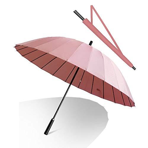 QNMP Golf Umbrella coupe-vent anti-pluie UV parapluie, 24 os...