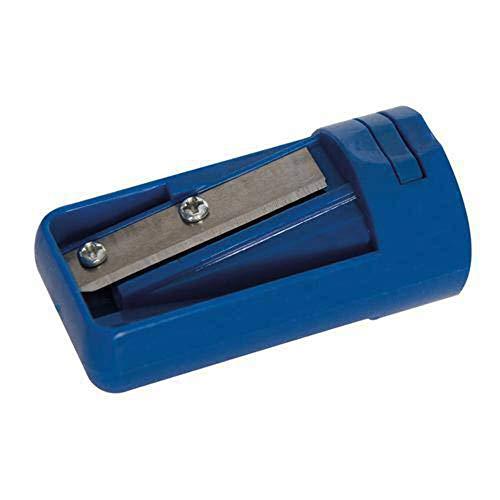 Silverline Tools 392267 Sacapuntas para Lápices de Carpintero, Azul, 54 mm Longitud, 27 mm Anchura