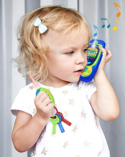 Click N' Play Pretend Play Cell Phone TV Remote