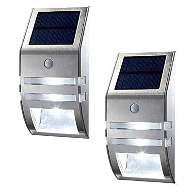 OKSS Outdoor Motion Sensor Solar Light, Wireless Bright Solar Powered Wall Light, Street Light, Outdoor Security Light, Solar Light for Patio Deck Yard Garden Home Driveway Stairs, Etc.