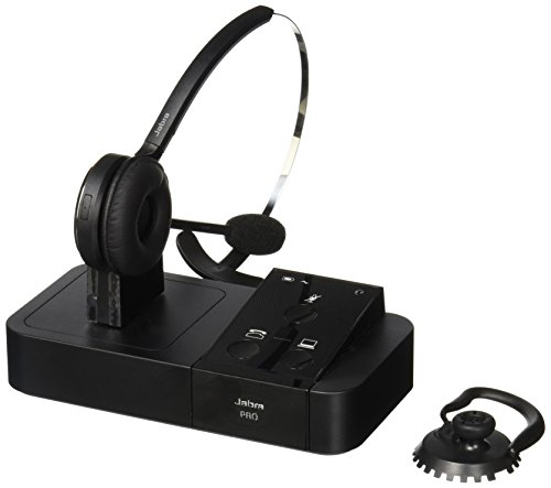 Jabra PRO 9450 Mono Flex-Boom Wireless Headset for Deskphone & Softphone