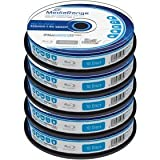 Blu-ray Disc Mediarange BD-R 25 GB, 1-4x Speed in Cakebox 50 Stück