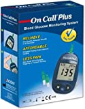 On Call Plus Glucometer with 10 Strip