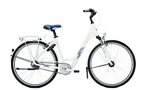 Kalkhoff Connect Lady 8R City Bike 2017 (Weiss, 28