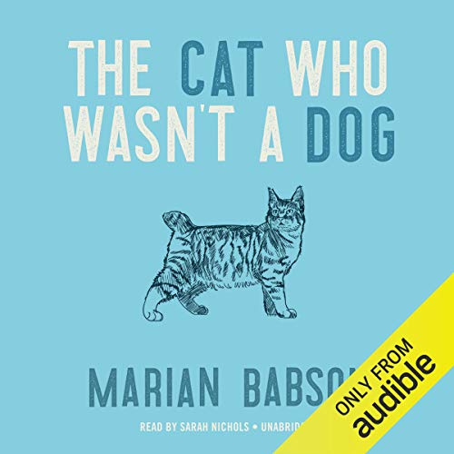 The Cat Who Wasn't a Dog audiobook cover art