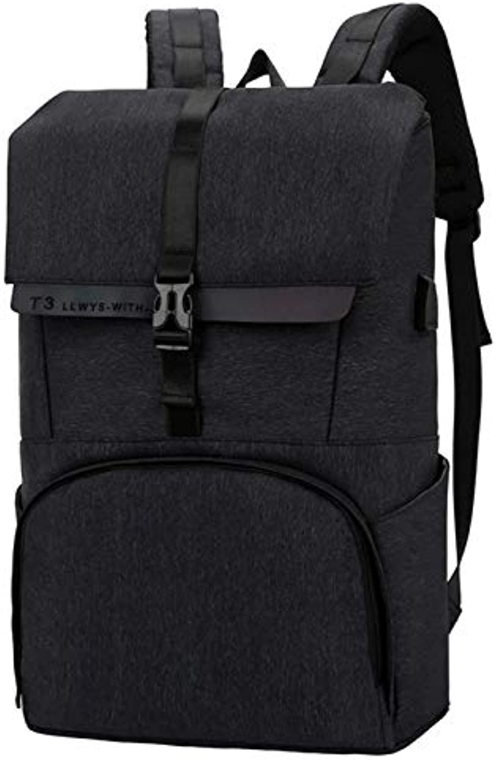 Bjzxz AntiTheft Business Backpack in The College Student Bag USB Charging Business Computer Bag Travel Backpack