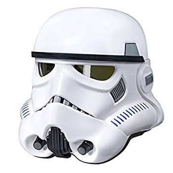 Star Wars The Black Series Imperial Stormtrooper Electronic Voice Changer Helmet Collector Item Ages 8 and up  Amazon Exclusive