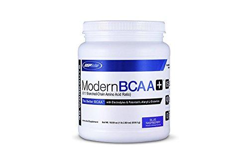 USPlabs 535.5g Modern BCAA Plus Blue Raspberry, Packaging May V