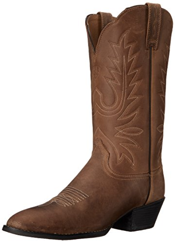 ARIAT Damen Heritage Western Cowboystiefel R Toe, Distressed Brown, 38.5 EU