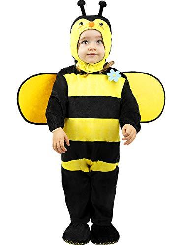 Funidelia | Disfraz de Abeja para bebé Talla 12-24 Meses ▶ Animales, Insectos, Bicho, Abeja - Multicolor