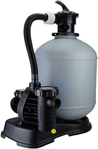 Steinbach Filteranlage Eco Top 10, Umwälzleistung: 14 m³/h 230 V/570 W, 6-Wege-Ventil, Anschluss Ø 38 mm, mit Filterpumpe Aquaplus, 041018