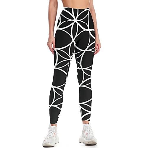 QTJY Pantalones de Yoga Delgados de Color para Mujer Pantalones de Yoga de Cintura Alta Suaves y de Moda Pantalones de Entrenamiento de Gimnasio Celulitis Pantalones para Correr A XL