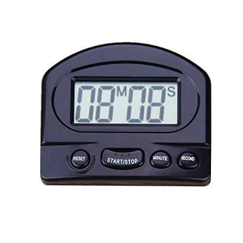 BOENTA Timer Reloj Cocina Temporizador Temporizadores de Cocina Reloj Temporizador Temporizador de Ducha Temporizador Digital Black,One Size