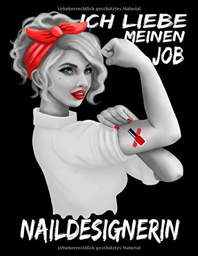 Naildesignerin Ich Liebe Meinen Job: Nagelstudio Planer Und Organizer Für Kundentermine Mit Kalender Jahresübersicht 2020