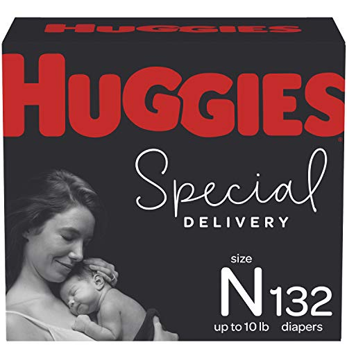 Newborn Diapers - Huggies Special Delivery Hypoallergenic Disposable Baby Diapers, 132ct, One...