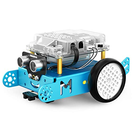 Makeblock mBot Bluetooth Version Programmable Robot Kit for Kids to Learn Coding, Robotics and Electronics (Blue)