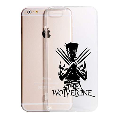Vestin Cover per Tutti i Modelli iPhone -Wolverine- Trasparente UltraSottili AntiGraffio Antiurto Case Custodia (iPhone 7 Plus, Trasparente)