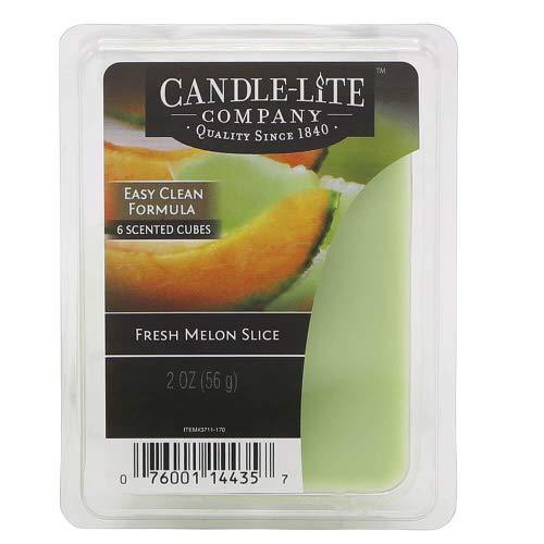 Candle-lite - Duftwachswürfel, Fresh Melon Slice 56g, Grün, 7.5 x 10.5 x 11 cm