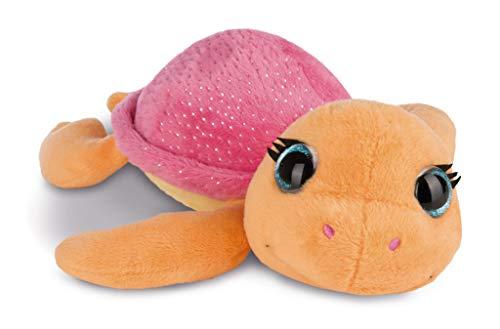 NICI 43389 Kuscheltier Schildkröte Sealina, 20 cm, orange/rot