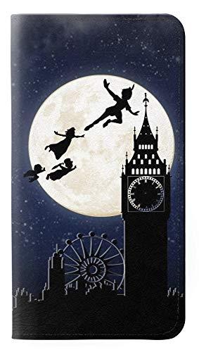 Innovedesire Peter Pan Fly Full Moon Night Flip Case Cover Custodia per iPhone 7 Plus, iPhone 8 Plus