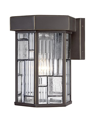 "Designers Fountain 32131-ABP Kingsley 10"" Wall Lantern"
