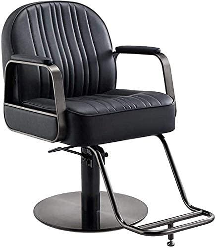 Silla de barbero reclinable hidráulica para todo uso, silla de peluquería, silla de peluquería, diseño de sillón de bomba hidráulica resistente, sillón de belleza, champú, silla de peluquería, equipo