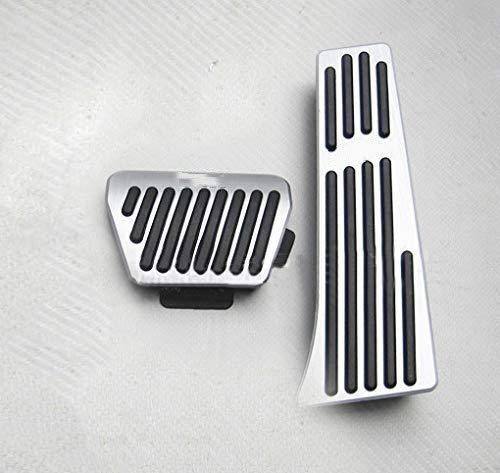 Per 1 2 3 4 5 6 7 Series X1 X3 X4 X5 X6 F01 F02 F10 F11 F18 F12 F13 F15 F16 F25 F26 F30 F31 F34 AT Coperchio di protezione del pedales Acceleratore freno dell'File automobile pedale 2 pezzi