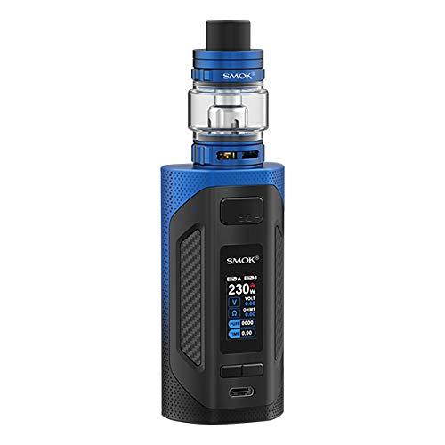 SMOK Rigel E Zigarette - 230 Watt - 6,5ml Tankvolumen - Farbe: schwarz-blau