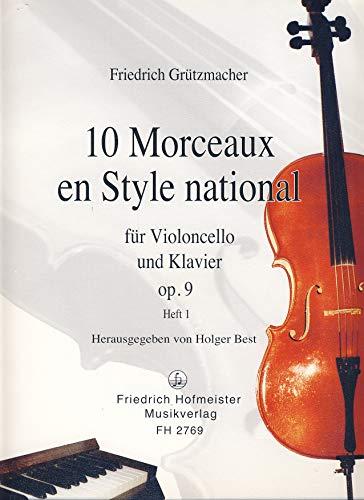 10 morceaux en style nationaal opus. 9 Band 1 (nr. 1-5): voor